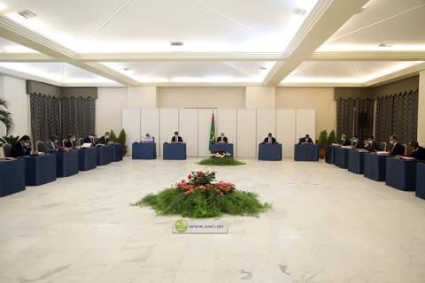 آخر اجتماع للمجلس قبل أسبوعين (و م أ)