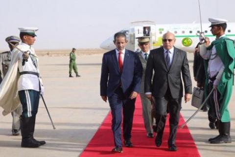 الرئيس محمد ولد الشيخ الغزواني (ارشيف+ AMI)