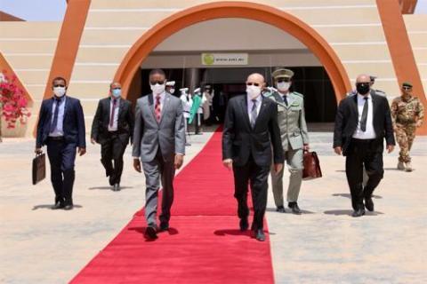 الرئيس غزواني يغادر إلى برازافيل ـ (المصدر: وما)