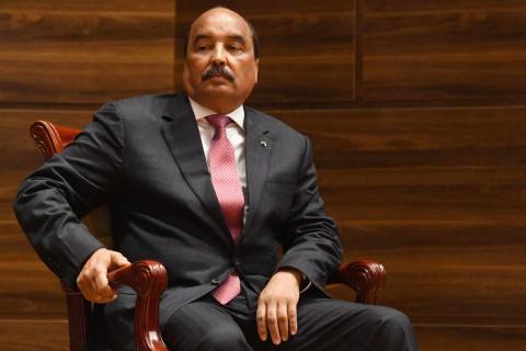 الرئيس السابق محمد ولد عبد العزيز (المصدر: الانترنت)
