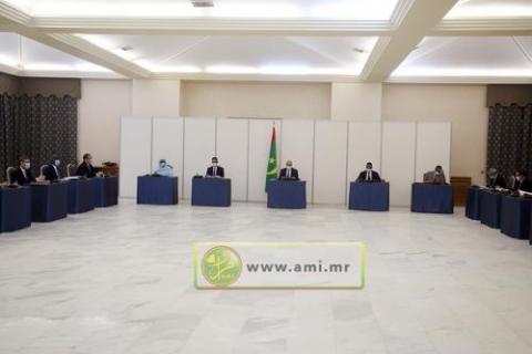 اجتماع مجلس الوزراء (المصدر: وما)