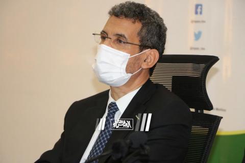 وزير المالية محمد الامين ولد الذهبي ـ (أرشيف الصحراء)
