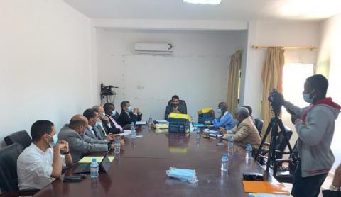 اجتماع للهابا مع مسؤولي المؤسسات المتنافسة - المصدر (الهابا)