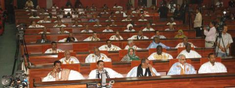 البرلمان الموريتاني (المصدر: francetvinfo)