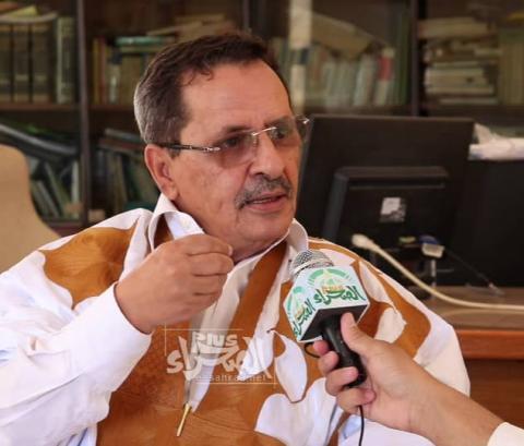 الخبير الدستوري الدكتور محمد الأمين ولد داهي - (المصدر: الصحراء)