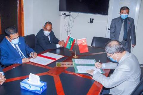 وزير الصحة يوقع اتفاقية شراكة مع السفير الصيني ـ (المصدر: وما)