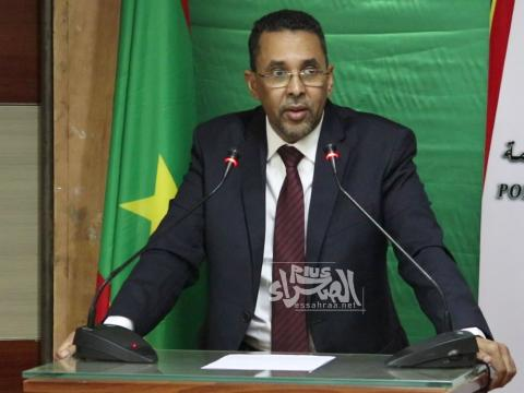 الوزير المنتدب لدى وزير الاقتصاد احبيب ولد حام - (المصدر: الصحراء)