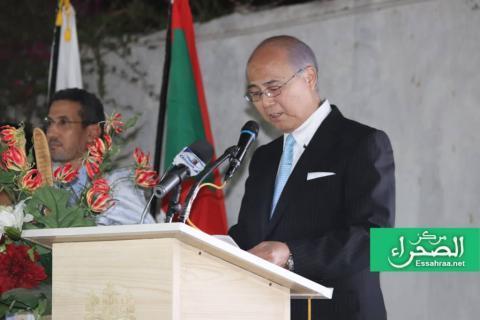 السفير الياباني بنواكشوط آهارا نوريو ـ (أرشيف الصحراء)