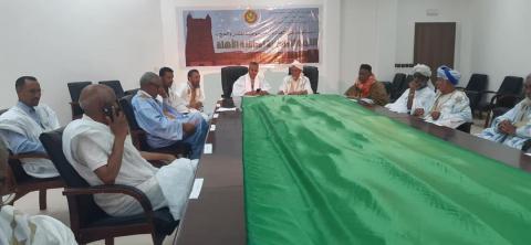اللجنة المركزية لمراقبة الأهلة ـ (المصدر: إذاعة موريتانيا)