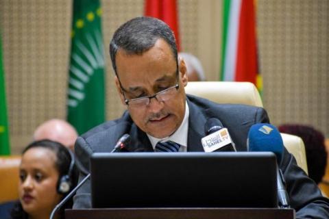 وزير الخارجية اسماعيل ولد الشيخ أحمد- المصدر (انترنت)