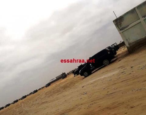 إضراب الحمالة بميناء نواكشوط يوليو 2018
