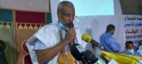 رئيس حزب حاتم صالح ولد حنن ـ (المصدر: الإنترنت)