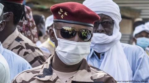 الجنرال محمد إدريس ديبي- المصدر (انترنت)