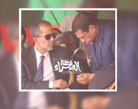 وزير الصحة محمد نذيرو ولد حامد (المصدر: الصحراء-إرشيف)