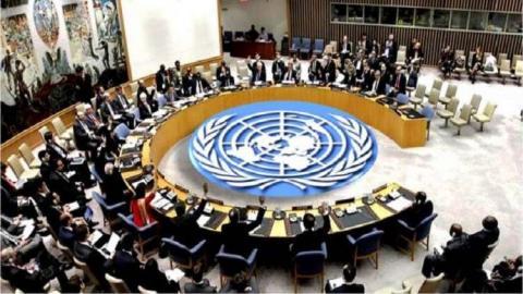 اجتماع سابق لمجلس الأمن الدولي (ارشيف - انترنت)
