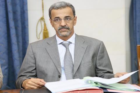 وزير التنمية الريفية الدي ولد الزين-(المصدر: الانترنت)