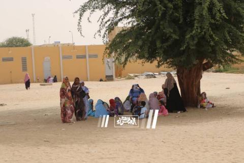 مدارس نواكشوط في أول أيام الإضراب ـ (المصدر: الصحراء)