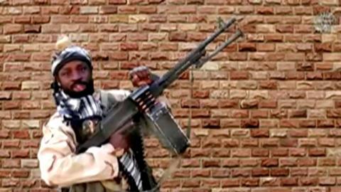زعيم بوكو حرام ابوبكر شيكو- المصدر (انترنت)