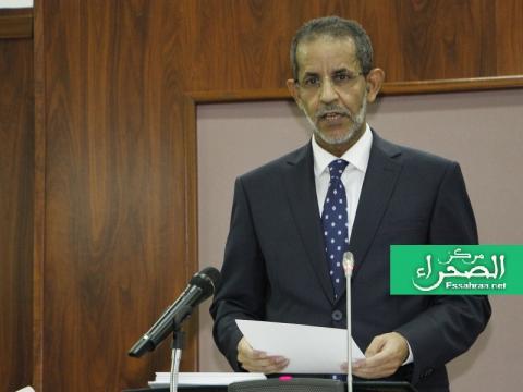 الوزير الأول اسماعيل ولد بد الشيخ سيديا-(المصدر: أرشيف الصحراء)