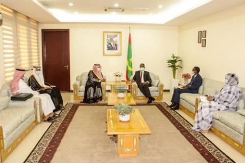 لقاء الوزير الأول والوفد السعودي