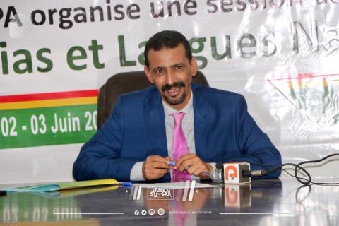 """الحسين ولد امدو رئيس """"الهابا"""" (ارشيف - الصحراء)"""
