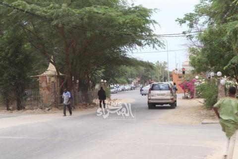 ملتقى طرق قريب من حي K وسط نواكشوط (ارشيف الصحراء)