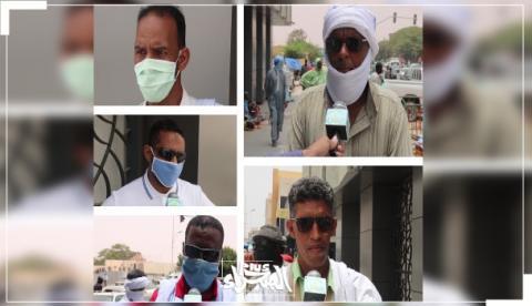 آراء الشارع لمكرو الصحراء حول متابعة أرقام كورونا