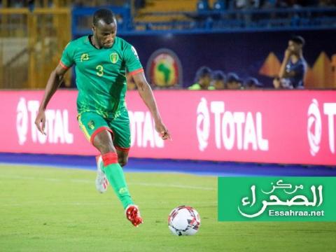علي عبيد - مدافع المنتخب الوطني - (المصدر:ارشيف الصحراء)