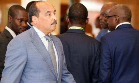 الرئيس السابق محمد ولد عبد العزيز- المصدر (انترنت)