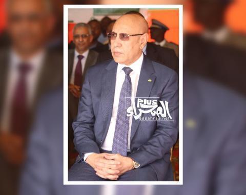 الرئيس محمد ولد الغزواني-(المصدر: أرشيف الصحراء)