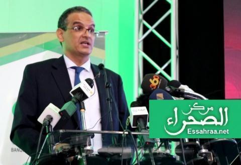 وزير الاقتصاد عبد العزيز ولد داهي ـ (ارشيف - الصحراء)
