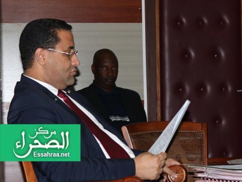 الإداري المدير العام لشركة اسنيم (المصدر: إرشيف الصحراء)
