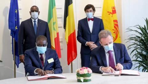 المصدر - الرئاسة السنغالية على فيسبوك