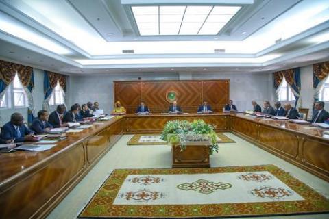 اجتماع مجلس الوزراء ( المصدر: وما)