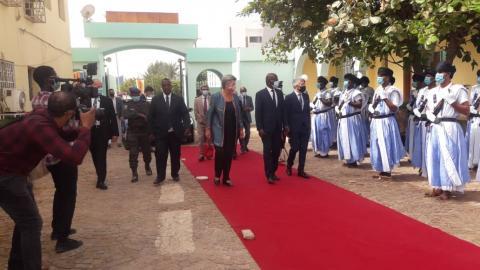وفد أوروبي في زيارة عمل لموريتانيا _(المصدر: الإنترنت)
