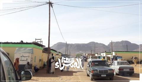 مدينة ازويرات اليوم (المصدر :الصحراء)