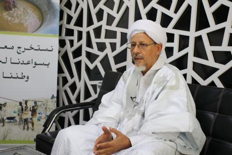 العلامة محمد المختار ولد أمباله- المصدر (انترنت)
