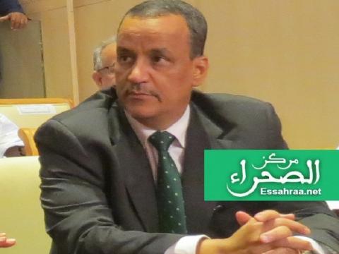 وزير الخارجية إسماعيل ولد الشيخ أحمد ـ (المصدر: إرشيف الصحراء)