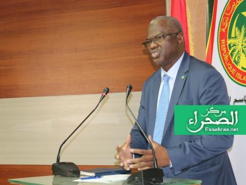 وزير التعليم العالي الناطق باسم الحكومة سيدي ولد سالم - (المصدر: الصحراء)