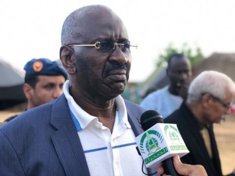 وزير الداخلية د. محمد سالم ولد مرزوك (ارشيف الصحراء)