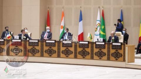 قادة مجموعة دول الساحل خلال قمة نواكشوط ـ (المصدر: الإنترنت)