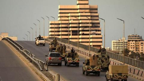 آليات تابعة للجيش لليبي (أرشيفية - فرانس برس)