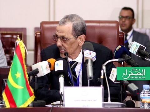 رئيس لجنة الانتخابات محمد فال ولد بلال - (المصدر: الصحراء)