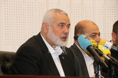 رئيس المكتب السياسي لحركة حماس إسماعيل هنية ـ (المصدر: الصحراء)
