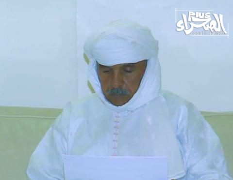 رئيس الجمعية الوطنية الشيخ ولد بايه ـ (أرشيف الصحراء)