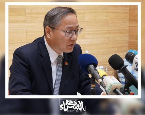 السفير الصيني لدى نواكشوط زهانغ اجيانكو (ارشيف - الصحراء)