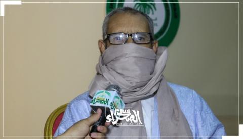 نائب رئيس حزب تواصل السالك سيدي محمود ـ (المصدر: الصحراء)