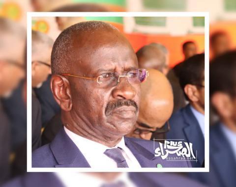 وزير الداخلية محمد سالم ولد مرزوك (المصدر: ارشيف الصحراء)