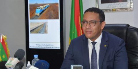 وزير البترول والطاقة والمعادن محمد ولد عبد الفتاح-(المصدر:jeuneafrique)