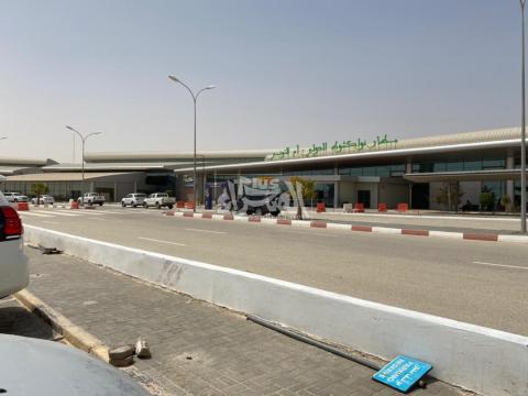 مطار نوكشوط صباح اليوم ـ (المصدر: الصحراء)